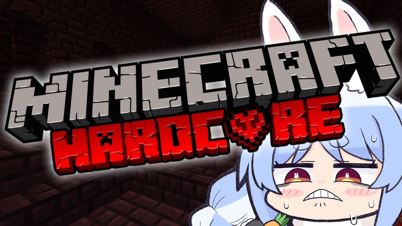 [Minecraft]I want to subdue Endora in the hardcore world![Holo Live / Pekora Usada]