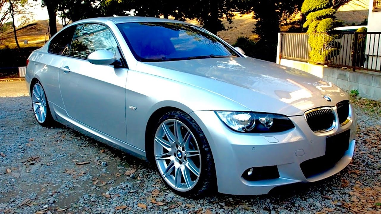 2007 bmw 335i m-sport twin turbo (e92) japan auction purchase