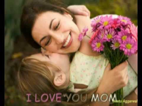 Greets son Mom