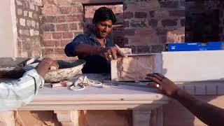 पत्थर के मकान बनाने वाले कारीगर गांव बिरानी rajsthan
