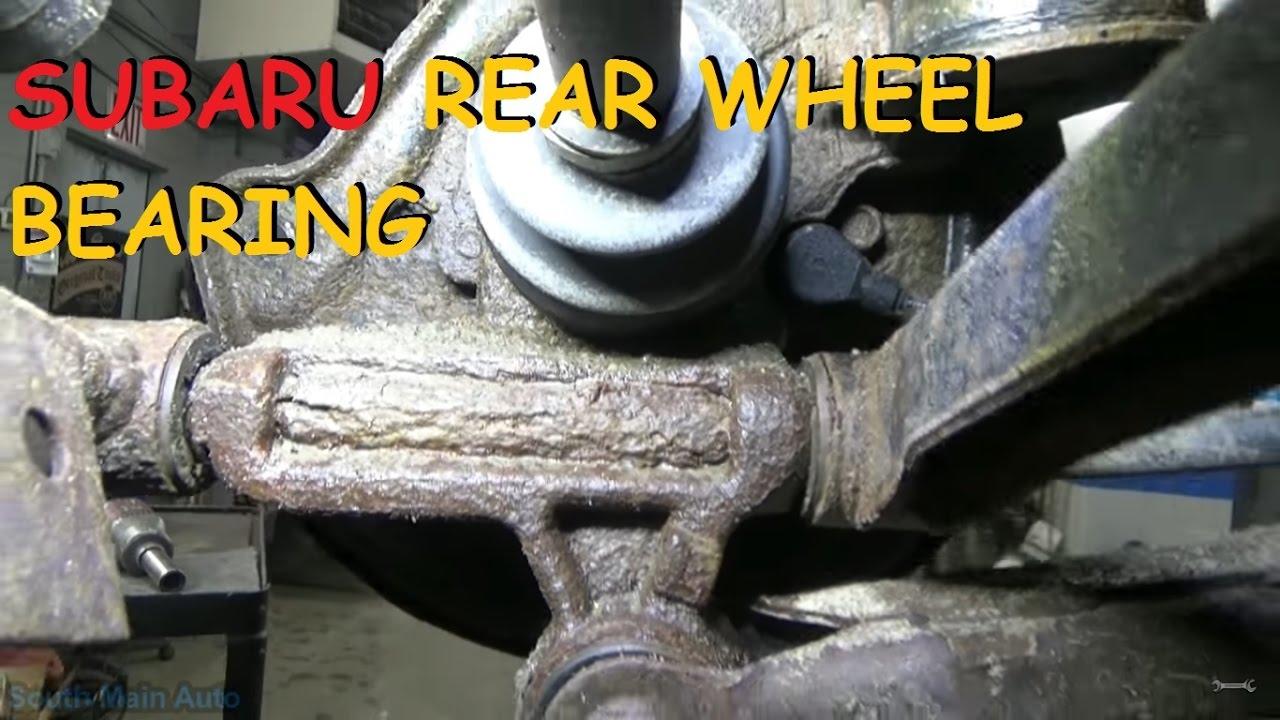97 legacy rear wheel bearings changed  Now tight  | Subaru