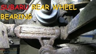 Subaru Rear Wheel Bearing - Press In