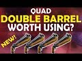 QUAD DOUBLE BARREL SHOTGUN | IS IT WORTH USING? - (Fortnite Battle Royale)