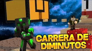 CARRERA DE DIMINUTOS - Willyrex vs sTaXx - Carrera épica- MINECRAFT