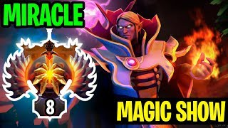 Magic Show With Invoker Miracle - Dota 2