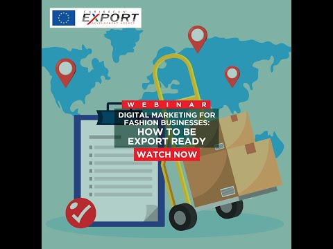 Digital Marketing for Fashion Businesses - How to Be Export Ready