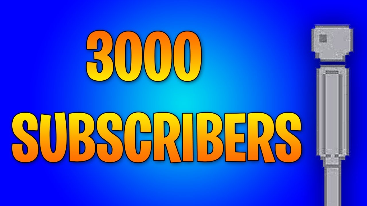 THANK YOU FOR 3000 SUBSCRIBERS! | People Playground