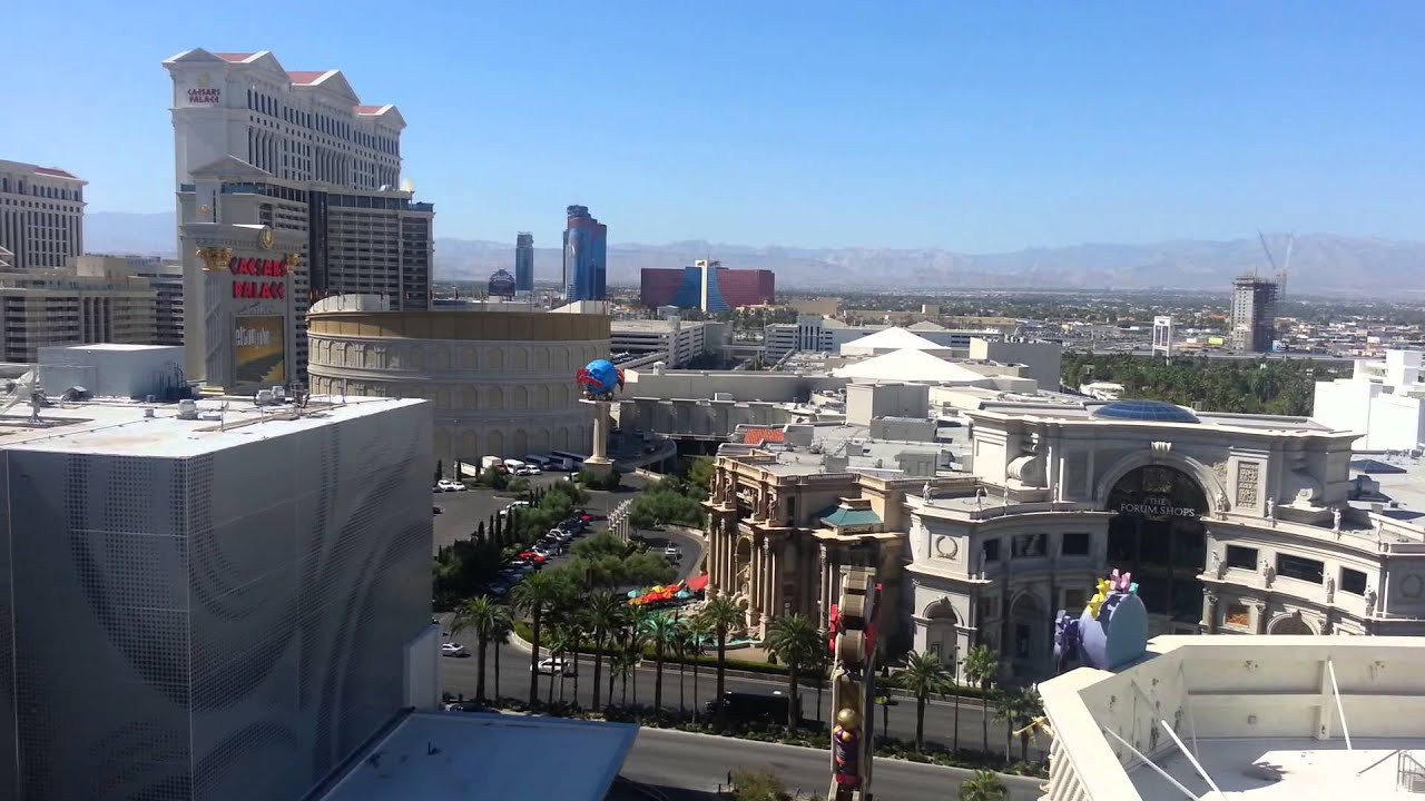 The Quad Las Vegas Room Tour 1777 Great Balcony