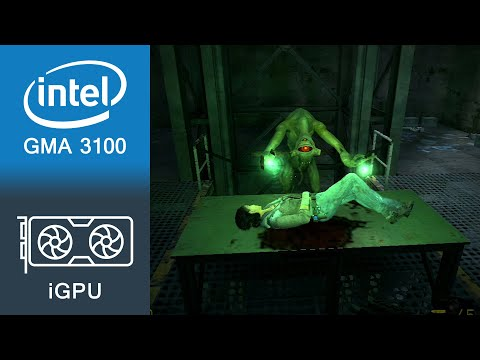 Half-Life 2 Episode 2 Gameplay Intel GMA 3100