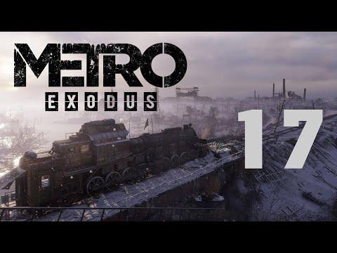 Метро Исход / Metro Exodus - Прохождение игры - Волга ч.13 - Баржа торговцев, Мост [#17] | PC