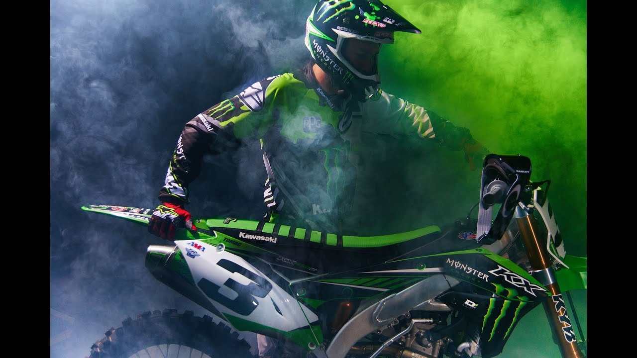 Need For Speed Girl Wallpaper Monster Energy Kawasaki Racing Eli Tomac Youtube