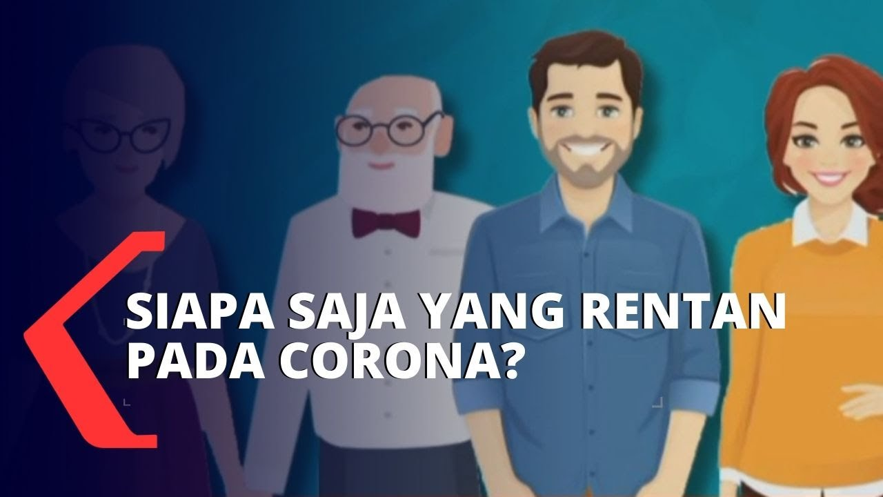 Ini Dia Golongan yang Rentan dan Aman Virus Corona