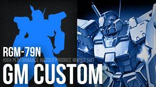 Special Unit - RGM-79N GM Custom