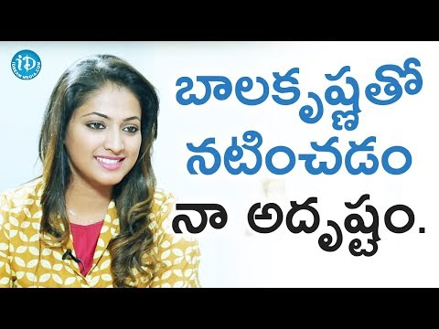 Hariprriya About Balakrishna || Star Talks With Sandy