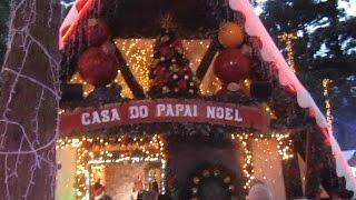 VISITAMOS A CASA DO PAPAI NOEL - SANTA'S HOUSE - CLUBINHO DA LAURA