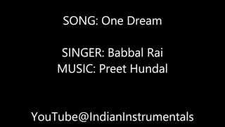 Download Hindi Video Songs - One Dream Karaoke - Babbal Rai - With Lyrics