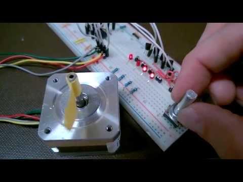 Rotary Encoder Or How To Build A Digital Servo Using A
