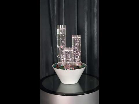 Tabletop LED Bubble Fountain Decor