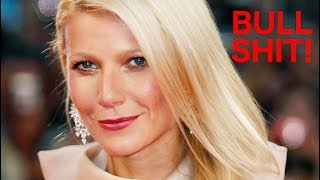 Gwyneth Paltrow's Scammy Goop Tries to Attack an Actual Doctor