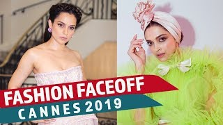 Cannes 2019: Fashion Faceoff | Deepika Padukone vs Kangana Ranaut | Pinkvilla | Fashion