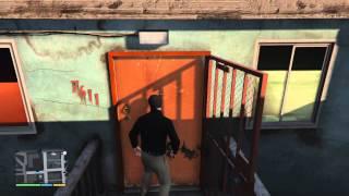 GTA V: What happens when you make Michael shoot Trevor's house?