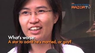 Gay or married : Which is worse? (Andy Lau saga Pt 6)