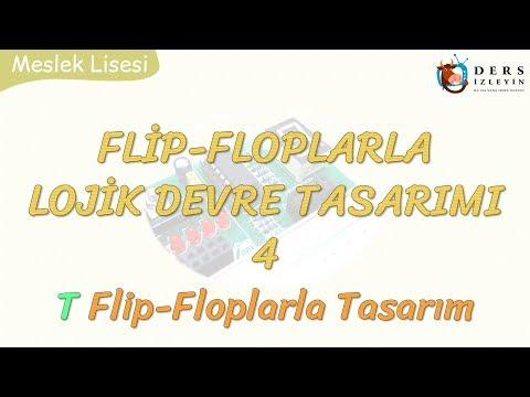 FLİP-FLOPLARLA LOJİK DEVRE TASARIMI - 4 / T FLİP-FLOPLARLA TASARIM