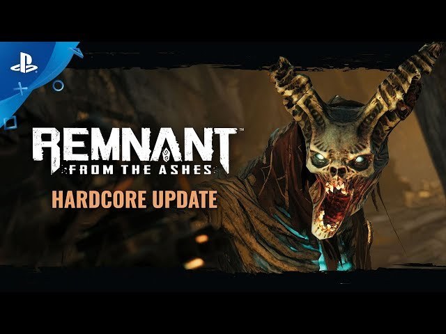 Remnant: From the Ashes - Hardcore Update Trailer | PS4