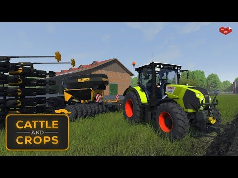 CATTLE AND CROPS: Tech Demo v0.0.9.3 ★ Sämaschine Hammer - CornKing 6000 [Deutsch/HD]