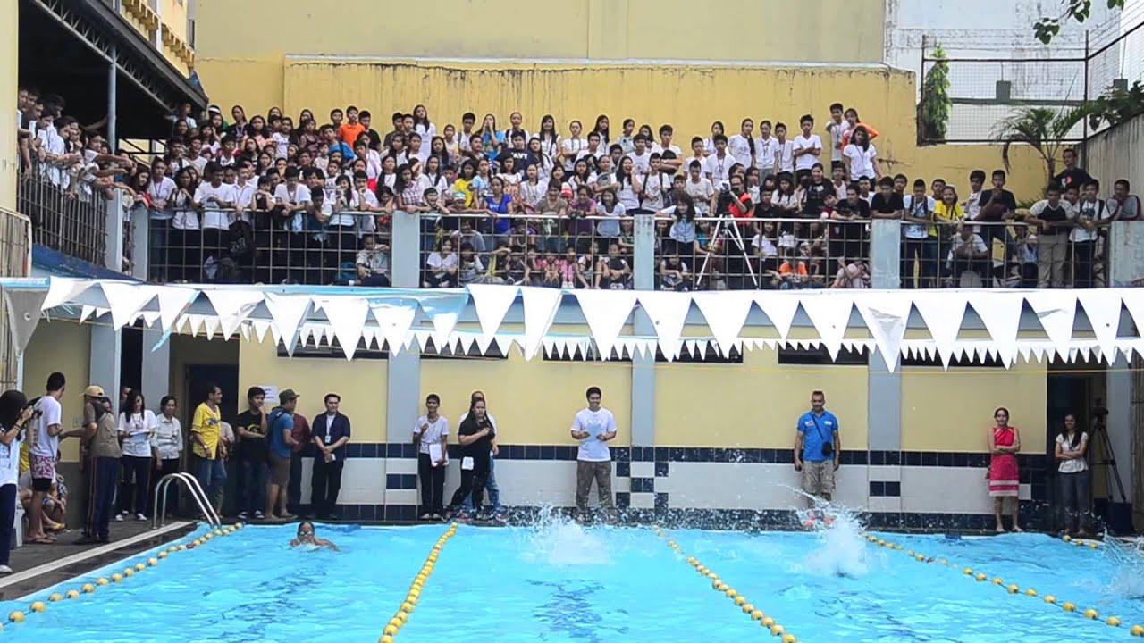 southeastern college sec 2013 invitational swim meet youtube
