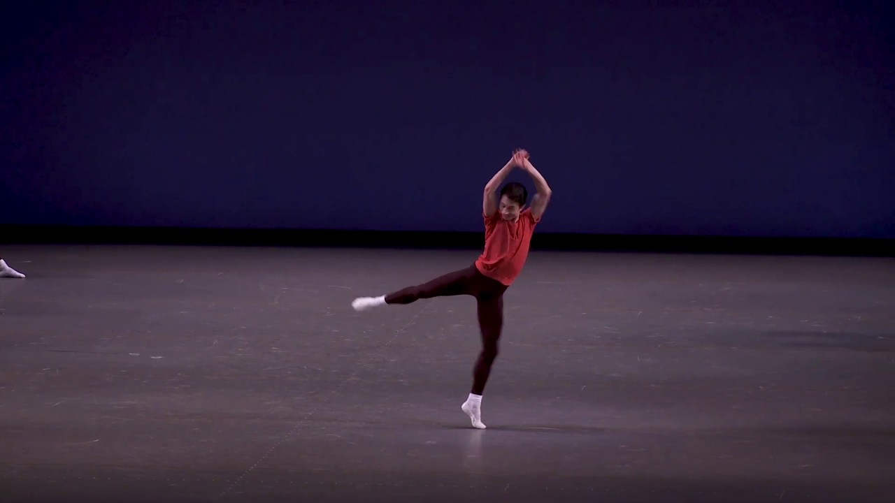 Spartak Hoxha on Jerome Robbins' INTERPLAY: Anatomy of a Dance