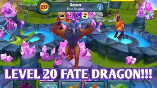LV 20 FATE DRAGON!!!  DRAGONS WORLD 2017