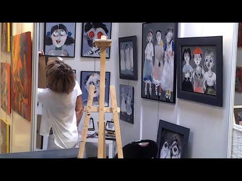 Exhibition Internationale Artistes du Monde Cannes 2015 / Construction
