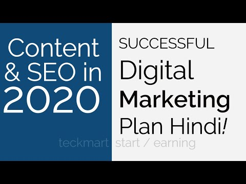 Successful Digital Marketing Business Plan WITH LIVE WEBSITE PROOF Hindi