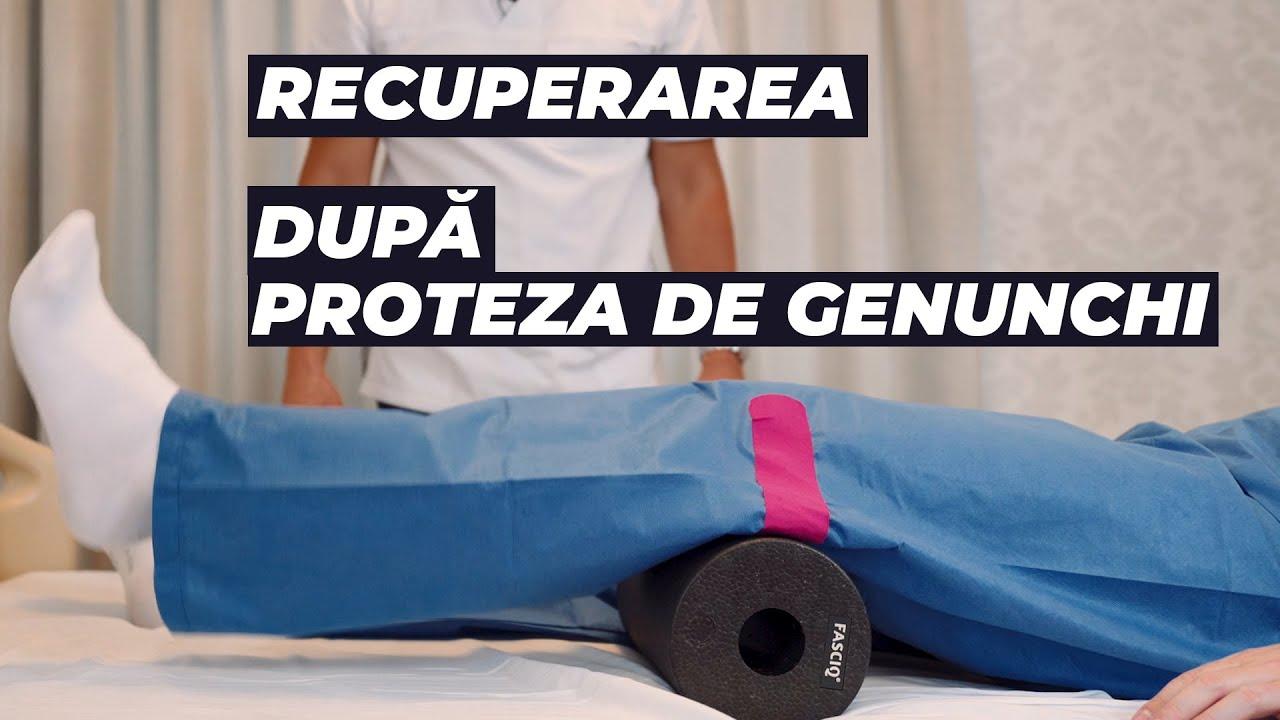 proteza de genunchi recuperare)