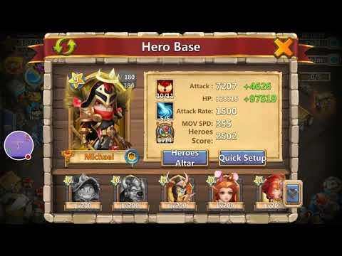Castle Clash Insane Dungeons 2-7 3*!!