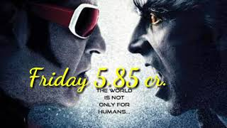 2.0 movie 18 day collection video II all income rupees