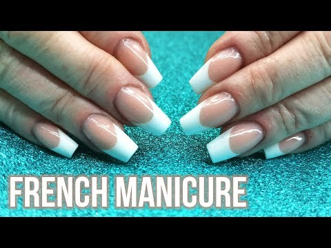 French Manicure On My Mum - Sculpted Nail Tutorial thumbnail