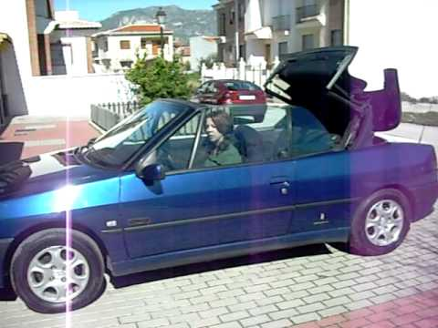 peugeot 306 cc pininfarina cabriolet youtube. Black Bedroom Furniture Sets. Home Design Ideas