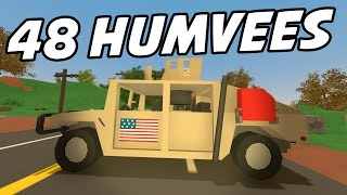 UNTURNED - Humvee Pack! Mounted Machine Guns! (Featured Mod Showcase)