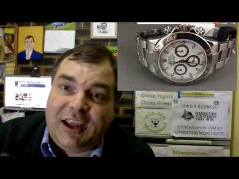 ROLEX STEEL DAYTONA – The best wrist watch a man can get