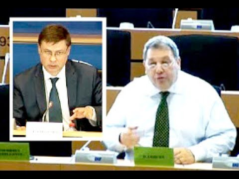 UKIP MEP Coburn asks Commissioner Dombrovskis why the EU is so keen on increasing financial risk
