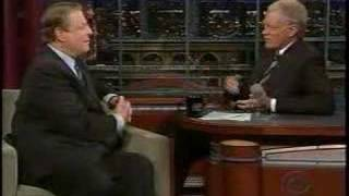 Al Gore on Letterman Discussing Global Warming