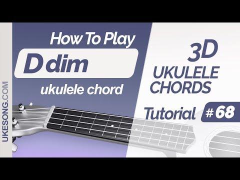 ukulele-chords---ddim-|-3d-ukulele-chords-tutorial-#-68