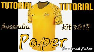Australia 2018 paper kit