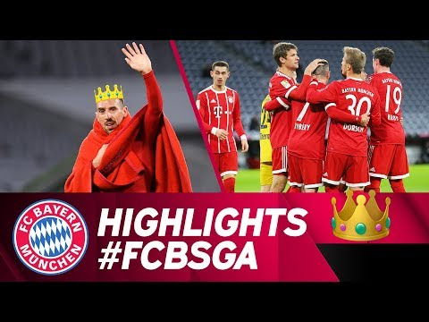 """King"" Franck Ribéry Scores Hattrick 💪 