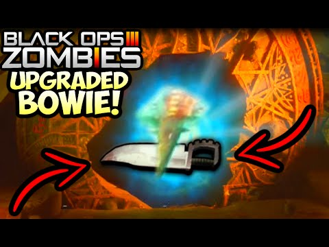 """Black Ops 3 ZOMBIES """"UPGRADED BOWIE KNIFE"""" GLITCH LIVE WALKTHROUGH! (Shadows of Evil Upgraded Bowie)"""