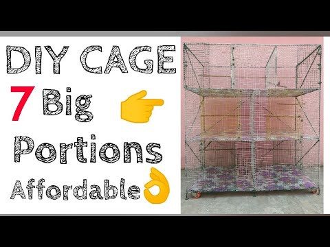 How to Make BIRD CAGE  at home? || DIY Bird Cage worth ₹ 5400 only || All About Pets