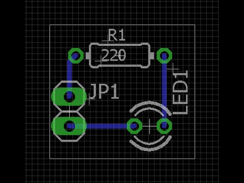How to design a PCB in Eagle Cad - Simple & easy tutorial for ...