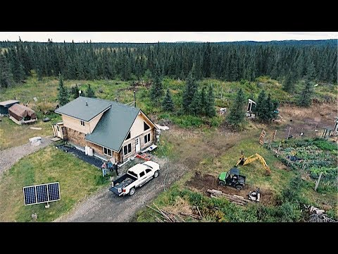 Into the Alaska Wilderness For The OFF GRID HOMESTEAD